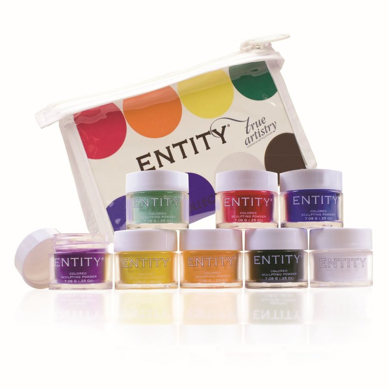 ENTITY  ColorPowders Fine Arts Collection 8 x 7gr