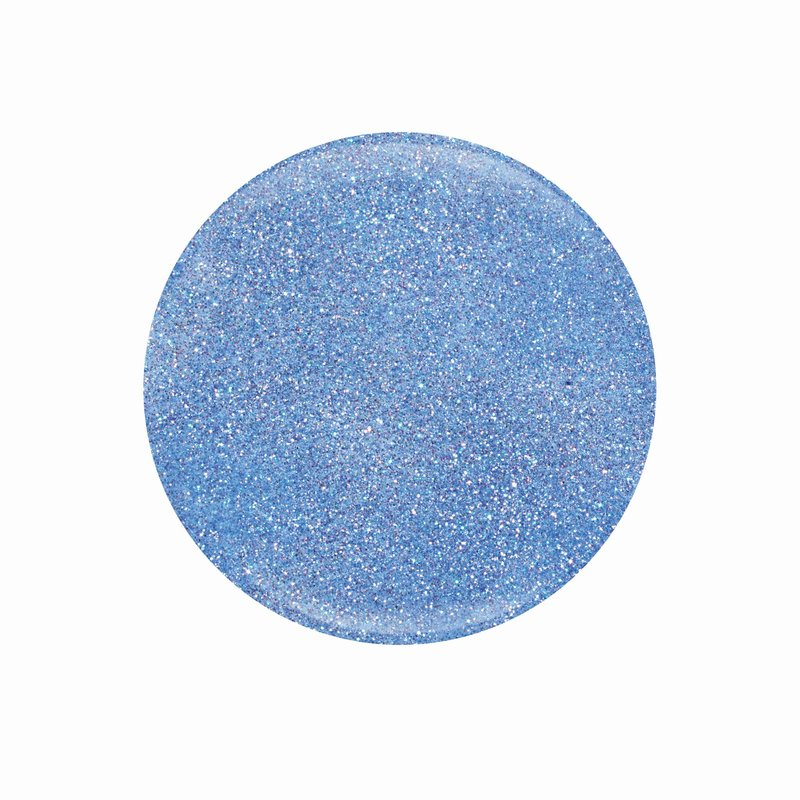 ENTITY Colored Powders Artist?s Baby Blues (silber-glitter)  7gr