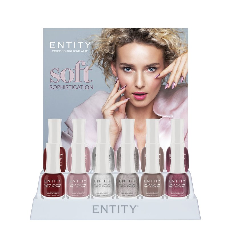 Entity Color-Couture + Lacquer - Winter 2019 Collection Soft Sophistication