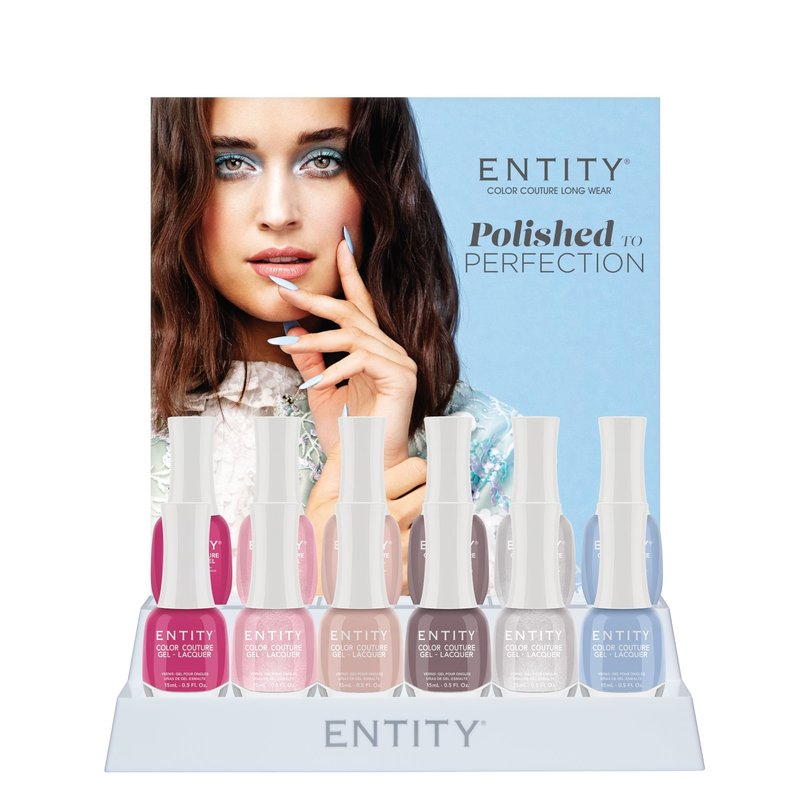 Entity Color-Couture + Lacquer  Spring Collection Polished To Perfection