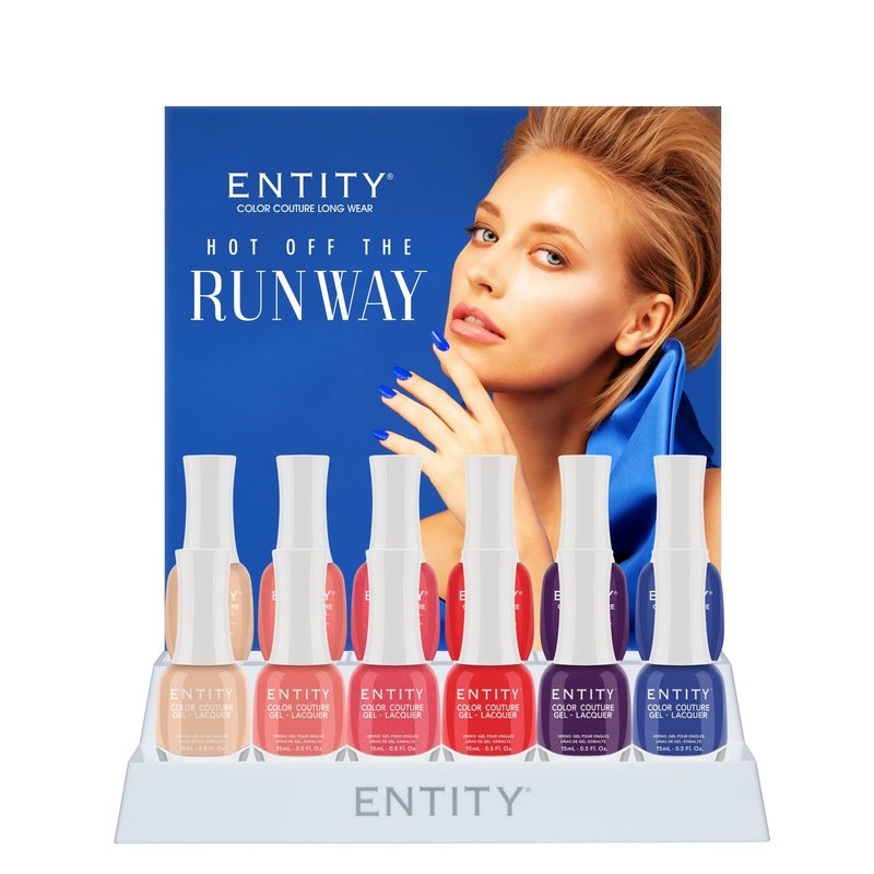 Entity Color-Couture + Lacquer - Summer 2020 Collection Hot off the Runway