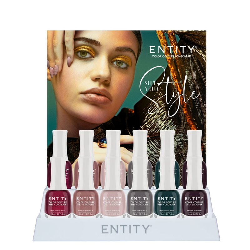 Entity Color-Couture + Lacquer - Fall 2020 Collection  Suit Your Style