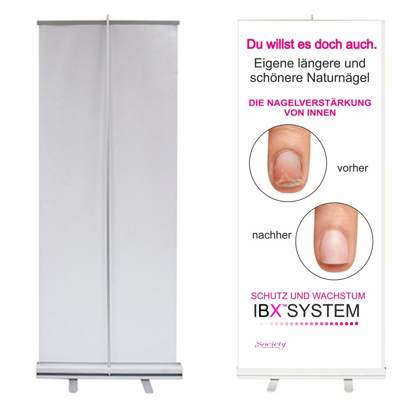 IBX Roll-Up 80x200cm weiß